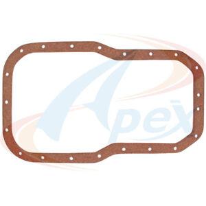 Engine Oil Pan Gasket Set-SOHC, Eng Code: 2SELC Apex Automobile Parts AOP813