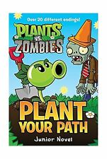 Plants vs. Zombies: Plant Your Path Junior Novel Free Shipping