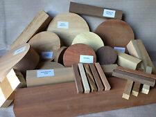 Premium Woodturning Selection Box - Bowl & Square Wood Turning Blanks Ideal Gift