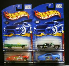 4 NEW HOT WHEELS MONSTERS SERIES COMPLETE 1-4 077 078 079 080 CADILLAC IMPALA (E