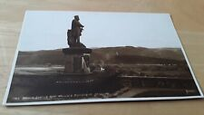 THE BRUCE STATUE AND WALLACE MONUMENT - STIRLING - SCOTLAND JUDGES  RPPC