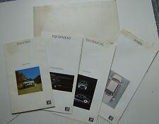 NSU Ro80 1968-69 Original Large Format UK Sales Brochure Portfolio