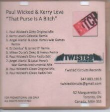 (871H) Paul Wicked & Kerry Leva, That Purse is a- DJ CD