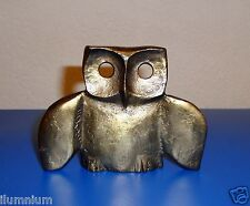 Large Owl With Bird Wings Art Sculpture