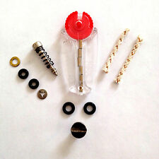 Scripto VU Lighter Repair Parts and Restoration Kit - Fill Screw Button & More