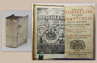 Thomasio P.P. Lips Horatii Tursellini Romani de Particulis 1709 Altphilologie xz