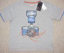 Jungen grau Kamera T-Shirt Alter 5-6 Jahre von Marks and Spencer