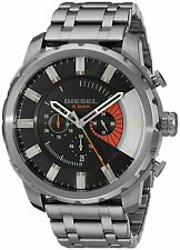 DIEZEL DZ4348 STRONGHOLD Gunmetal Gray Chronograph Stainless Steel Men's Watch