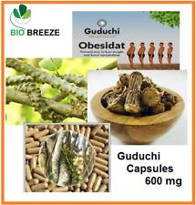 GUDUCHI CAPSULES 100% Pure Herbal from Ceylon- 600 mg net weight