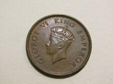 India 1939-B 1/4 Anna Coin