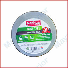 2 Rolls Nashua Duct Tape Industrial Grade All Weather Silver 189 X 60 Yards