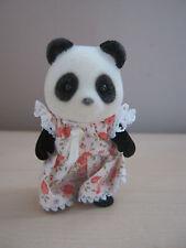 Sylvanian Families - Vintage 1980s TOMY UK Bamboo Panda Sister