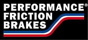 Rr Disc Brake Pads  Performance Friction  1194.20
