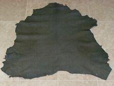 XZA6694-1) Hide of Green Printed Lambskin Leather Hides Skin