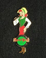 Hard Rock Cafe Pin - Honolulu 2002 - Thanksgiving Pilgrim Girl - Pin #19174