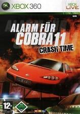 Xbox 360 alarma para cobra 11 Crash Time como nuevo