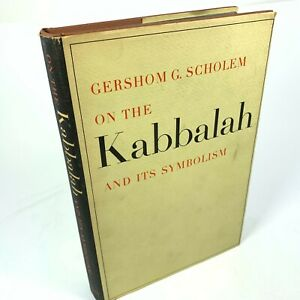 On the Kabbalah & Its Symbolism by Gershom Scholem book Shocken 1965 Rare