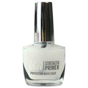 Maybelline SuperStay Strength Primer Protecting Base Coat - 10ml Clear