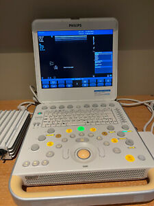 PHILIPS CX50 PORTABLE ULTRASOUND WITH C5-1 / L12-3 ALL OPTIONS CARDIAC VASCULAR