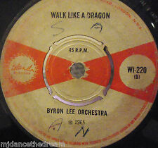 "KEN LAZRUS - Funny / BYRON LEE - Walk Like A Dragon ~ 7"" Single"