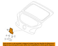 NEW GENUINE Liftgate Bump Bumper Stop Stopper OEM For 2012-2016 Hyundai Veloster