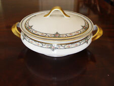 Theodore Haviland Limoges France Round Cover Serving Bowl Vegetable Cassorle