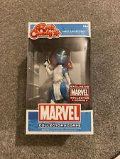 Marvel Rock Candy Figure X-Men Mystique - Exclusive Collector Corps Funko Vinyl