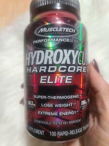 NEW HYDROXYCUT HARDCORE ELITE 100 CAPS