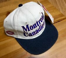 MONTREAL CANADIENS NIKE  NHL 2 TONE  (Adjustable) HOCKEY CAP/HAT -No Tax