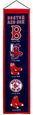 "Boston Red Sox Embroidered Wool Heritage 32"" Banner Pennant"