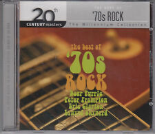 Best of 70s ROCK Millennium Collection 2003 CD Who 10cc Uriah Heep Rare Earth