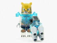 LEGO Legends of Chima Icebite Minifigure with Minifig Weapons