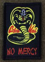 Karate Kid Movie Cobra Kai Morale Patch Funny Tactical Military Army USA Hook