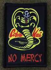 Karate Kid Movie Cobra Kai Morale Patch Funny Tactical Military Army USA Hook