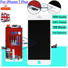 For Apple iPhone 7 Plus 7+ LCD Display Touch Screen Digitizer Replacement White