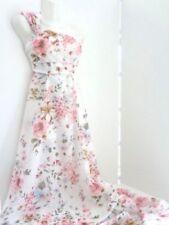 Handarbeitsstoffe aus Baumwolle mit Blumenmuster für Basteln