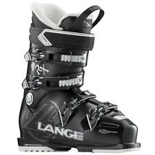 Lange RX 80 Women's Ski Boots Black 27.5 New 2017