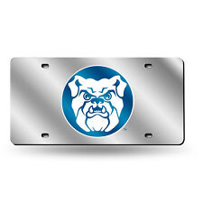 Butler Bulldogs NCAA Mirrored Laser Cut License Plate Laser Tag