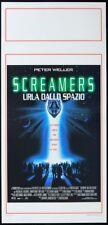 SCREAMERS da Philip K. Dick PETER WELLER, ROY DUPUS, C.DUGUAY, SCI-FI LOCANDINA