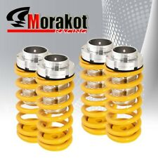 Jdm Accord Prelude Suspension Coilover Lowering Springs Dual Lock Silver/Yellow