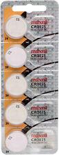 10x Maxell CR2025 Knopfzelle  2x 5'er Blister Batterie 3v Lithium CR 2025