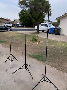 Smith-Victor Model S2 Telescoping Light Stands (3)-Used