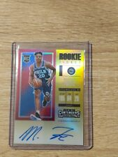 2017-18 Contenders Rookie Gold Ticket OnCard Auto Markelle Fultz 10/10 ebay 1/1