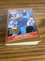 (50) George Brett 1986 Donruss Cards Kansas City Royals #3 NM-MT+