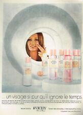 L- Publicité Advertising 1970 Cosmétique crème Lait et lotion Vichy