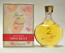 Fleur de Fleurs by NINA RICCI 3.3oz Eau de Toilette None Spray (New In Box)