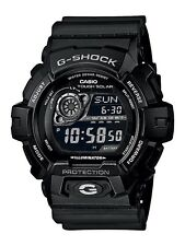 Casio GR-8900A-1ER Mens G-Shock World Time Black Solar Powered Watch RRP £130