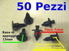 rivetti plastica tendalini cuscini vtr gommoni tender consoll 7mm a scatto 50pz