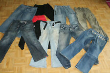 NEU ESPRIT JEANS STRETCHIGE-USED-JEANS DAMEN STAR STRAIGHT REGULAR FIT