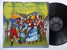 F. LEHAR Frasquita Paganini MAX DE RIEUX DECCA 153886